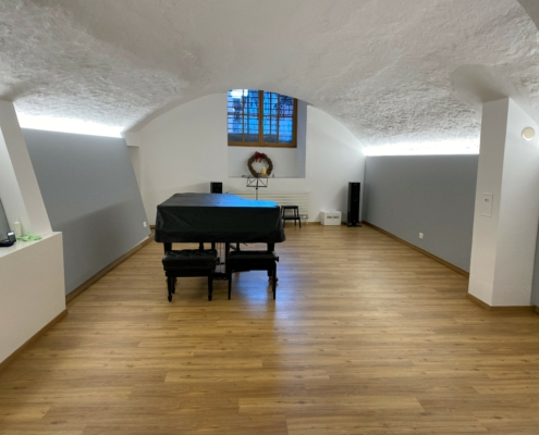 Kvadrat Softcells in Musikzimmer